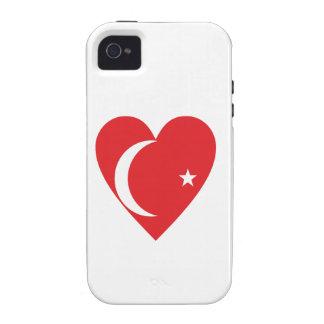 Herz Türkei heart Turkey iPhone 4 Hülle