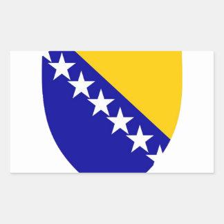Herzegovina Rectangle Sticker