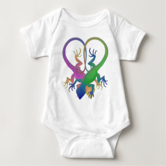 herzgeckos baby bodysuit
