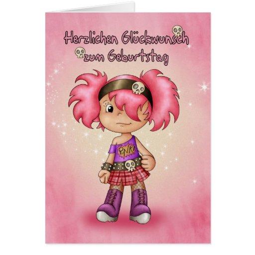 Herzlichen Glückwunsch zum Geburtstag - German Bir Card
