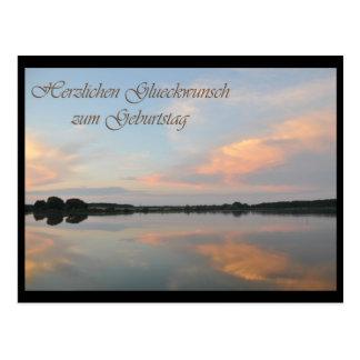 Herzlichen Glueckwunsch Postcard
