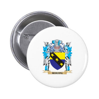 Herzog Coat of Arms - Family Crest Pin