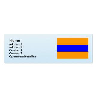 Herzogtum Nassau , Germany Double-Sided Mini Business Cards (Pack Of 20)