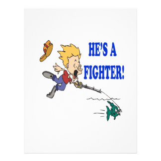 Hes A Fighter 2 Flyer
