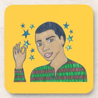 He's a Super Star a shining Star/Dominic soars Drink Coaster