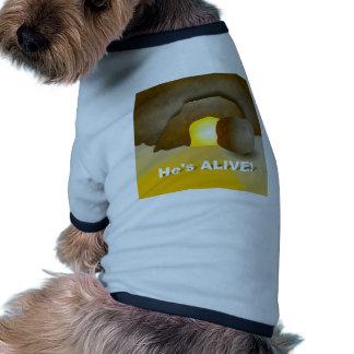 He's Alive! Pet T Shirt