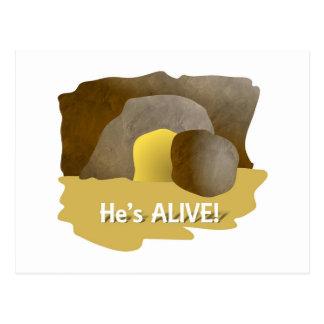He's Alive! Postcard