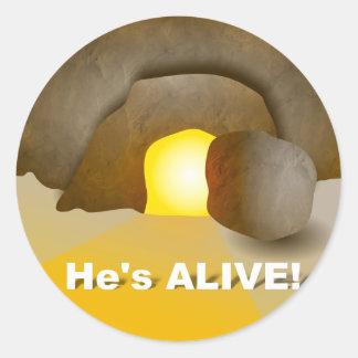 He's Alive! Sticker