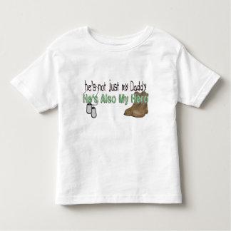 He's Also My Hero Toddler T-shirt