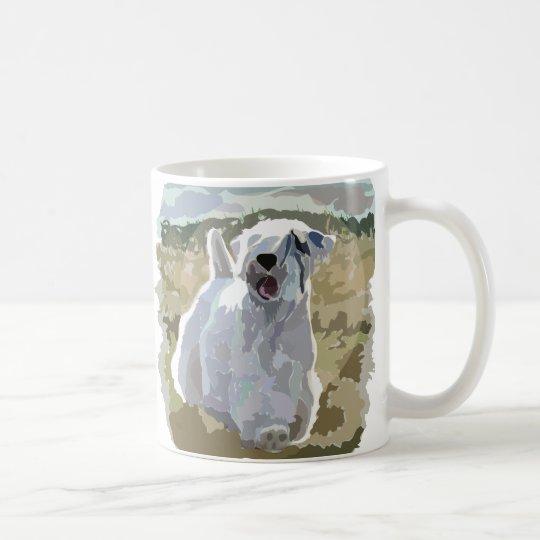He's an Angel - Sealyham sunlit in field Coffee Mug