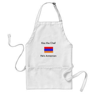 He's Armenian, Kiss the Chef Adult Apron