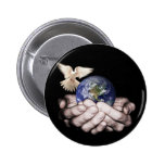 He's Got The Whole World... 2 Inch Round Button