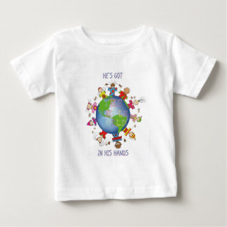 He's Got the Whole World in His Hands Tee Shirt