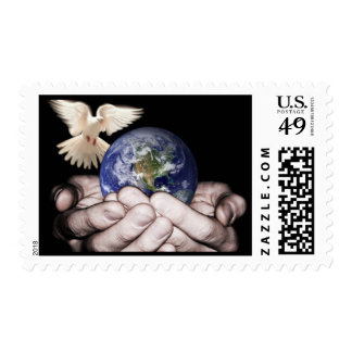 He's Got The Whole World... Postage Stamp