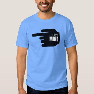 HE'S MINE POINT LEFT - COPY.png T-shirt