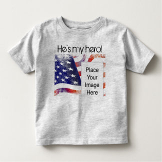 He's My Hero! shirt