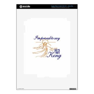 Hes My King iPad 3 Skin