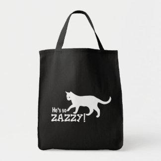 He's so Zazzy - Cat Lover Bag