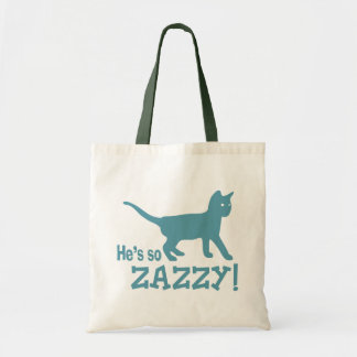 He's so Zazzy - Cat Lover Bags