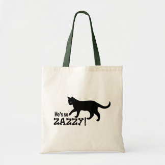 He's so Zazzy - Cat Lover Tote Bag