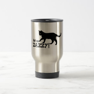 He's so Zazzy - Cat Lover Travel Mug
