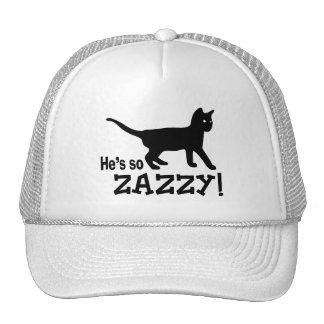 He's so Zazzy - Cat Lover Trucker Hat