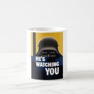 He's Watching You Coffee Mug