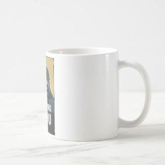 He's Watching You.jpg Coffee Mug