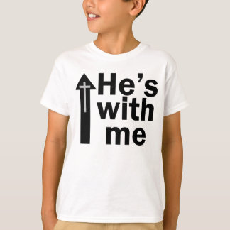 He's with me - Kids T T-Shirt