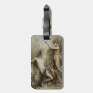 Hesiod and Muse Art by Gustave Moreau Luggage Tags