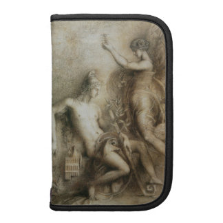 Hesiod and Muse Art by Gustave Moreau Folio Planner