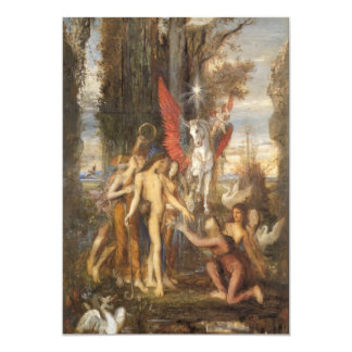 Hesiod and the Muses Card