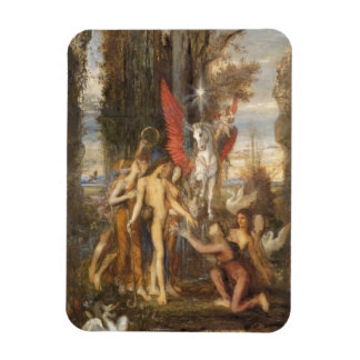 Hesiod and the Muses Rectangular Photo Magnet