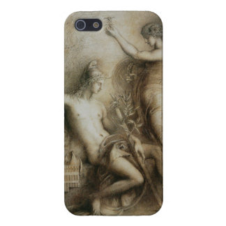 Hesiod & Muse Gustave Moreau Classical Drawing iPhone SE/5/5s Cover