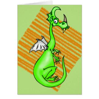 Hesitant Dragon Card