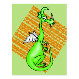 Hesitant Dragon Postcard