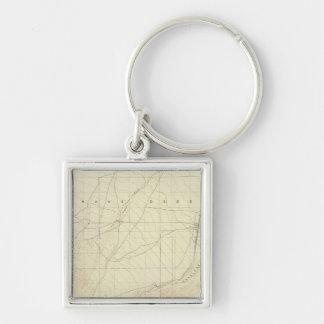 Hesperia quadrangle showing San Andreas Rift Keychain