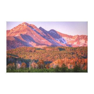 Hesperus Peak Sunset Canvas Prints