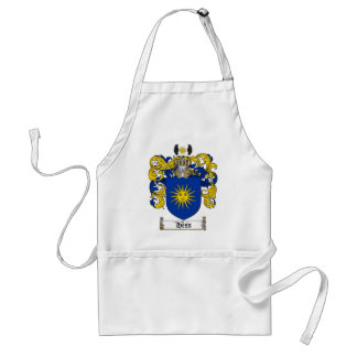 HESS FAMILY CREST -  HESS COAT OF ARMS ADULT APRON