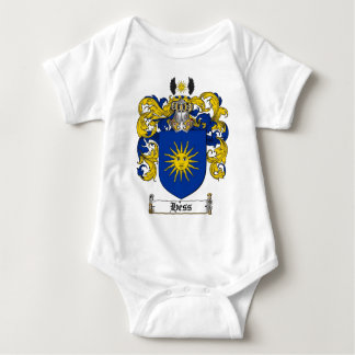 HESS FAMILY CREST -  HESS COAT OF ARMS BABY BODYSUIT