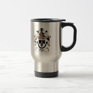 Hess Family Crest Travel Mug