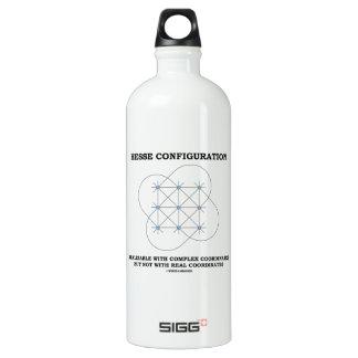Hesse Configuration (Geometry) Aluminum Water Bottle