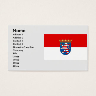 Hesse , Germany Business Card