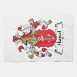 Hessel Family Crest Towels
