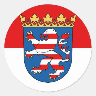 Hessen Classic Round Sticker