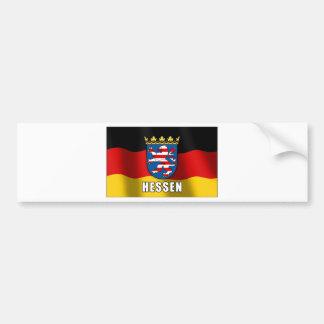 Hessen coat of arms bumper sticker