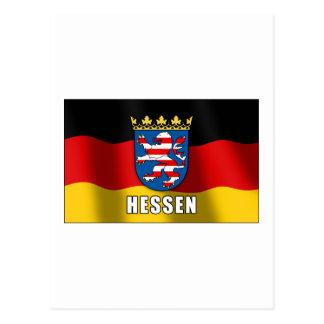 Hessen coat of arms postcard