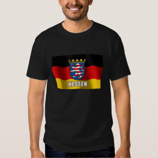 Hessen coat of arms t shirt