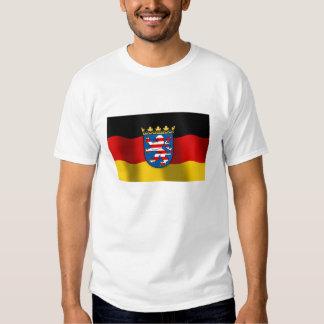Hessen coat of arms tee shirt