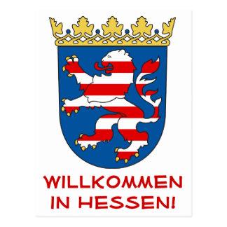 Hessen - Coat OF of arm/coat of arms - Postcard